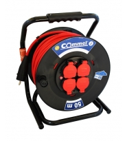 Cable reel with 50mtr rubber cable 3x2,5mm²