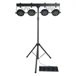 Compact power lightset MKII Incl. bag, footswitch & stand
