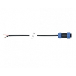 1,5mtr 2x1mm² Open end cable 4-pin IP68 Female inline conne